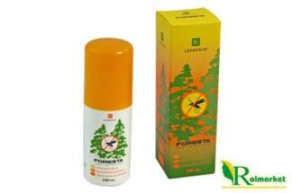 Spray na komary Foresta (krem w płynie) 100 ml - działa do 12h